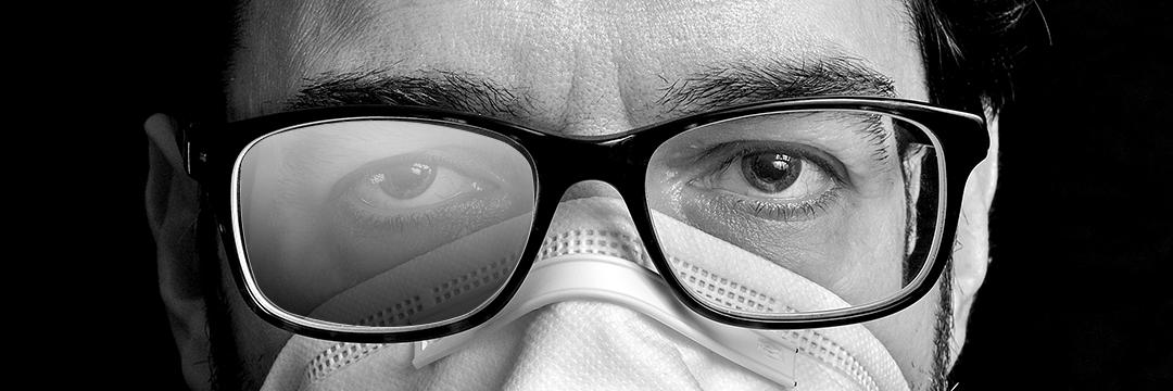 Ne laissez plus votre masque embuer vos lunettes !