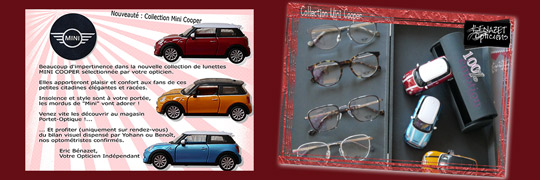 Nouvelle collection Mini Cooper