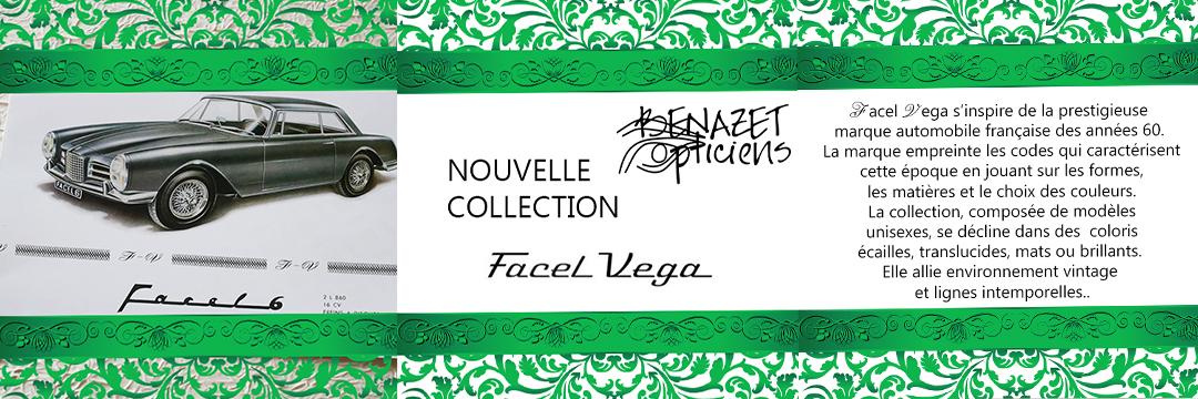 Nouvelle collection Facel Vega
