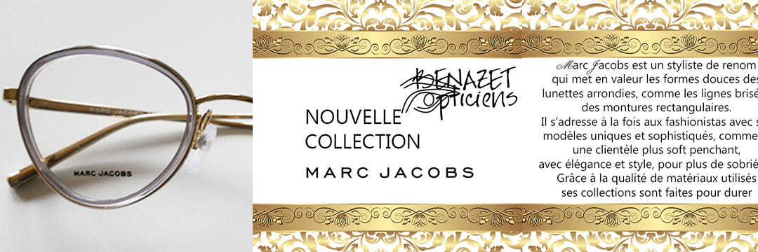 Nouvelle collection Marc Jacobs